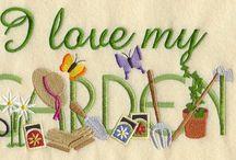 The pleasure of gardening. / by Jeanne Scottie mom