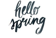 Spring is the season.