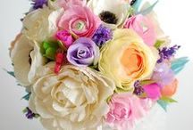 paper flower inspiration / by elaine