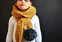 Yarn inspiration for kids /  Clothes and accessories for kids made by yarn