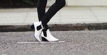 [Fashion] White Boots