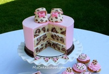 Cakes and food
