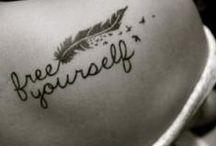 Make your mark / Tattoos  / by Ashley B.