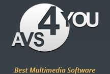 AVS4YOU® Software Suite / AVS4YOU software suite includes 18 multimedia programs to convert and edit video, audio, image and text files effectively.