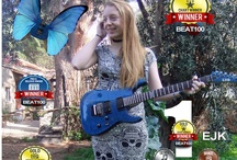 EJK Videos & Press Reports / Ejk is a young singer songwriter, born in the Uk but raised and schooled on the island of Lesvos in Greece. On the 4/3/2013 she won the beat 100 worldwide video chart for original songs. 