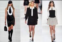 Three is a Trend Spring 2014 / See the emerging trends direct from the runway.
