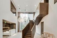 stair / handrail / railing