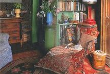 Bohemian style / Styles and images of Bohemian life