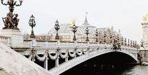 EXPLORE: PARIS / Our guide to the city of lights and it's romantic arrondissements. Paris, je t'aime.