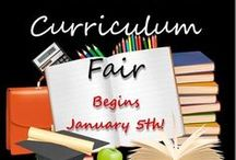 2015 Virtual Curriculum Fair / This is the official 2015 Virtual Curriculum Fair PinBoard!  All our participants posts for this month-long blog carnival will be featured here.