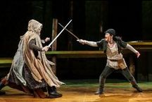 Robin Hood / Medieval mischief and mayhem! The Prince of Thieves and his merry men do all the wrong things for all the right reasons. In this fantastically funny, swashbuckling adventure from Seattle Children's Theatre, ROBIN HOOD fights for justice with a tongue as sharp as his sword. October 2, 2015-October 11, 2015 at The New Victory Theater. / by New Victory Theater