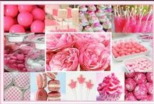 Think Pink / These are all events produced and designed by Merryl Brown Events with pink elements.