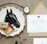 Equestrian Cards & Invitations / Beautiful equestrian illustration and horse stationery