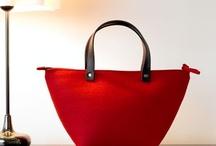 Felt handbags