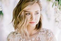 .the bride / dreamy bridal hair + makeup.