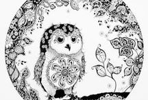 Exquisite Ink by Cady / Exquisite Ink is a line of fund-raising ink art that I created to help orphan causes and families who are adopting. Find Exquisite Ink on Etsy for fun coloring pages!  http://www.artbycady.com/exquisiteink  Or like on Facebook:  https://www.facebook.com/Exquisiteink
