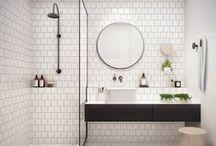 .master bath + closet