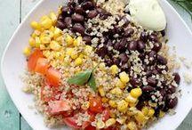 Quinoa, Pasta & Grains