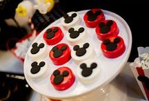 Mickey Mouse Birthday Party by Lysi / Classic Mickey Mouse Birthday Celebration styled by Lysi of www.thelysilife.com