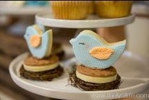 About to Hatch Baby Shower / About to Hatch Baby Shower for a Baby Boy designed by Lysi of www.thelyslife.com