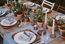 place setting / Place setting ideas for dinner parties and celebrations