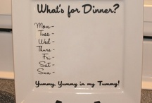 Household .... menu boards .... / by Wendy Zebregts Marshall