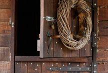Rustic Doors / by Kristen Colgrove