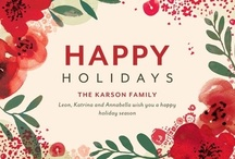 Holiday Cards / My favorite holiday cards from Tiny Prints! / by Robin O