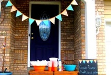 Moodboard for my 30th birthday party / Of course the actual party was far more perfect then any of this! Friends & Family make the best decorations... / by Nia Wearn