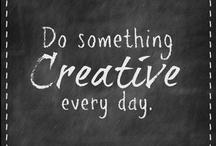 Crafty .... chalkboards .... / by Wendy Zebregts Marshall