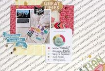 My scrapbooking LOs / Papercrafting - My #scrapbooking layouts #art #craft / by Michelle Yuen