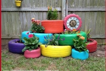 go green / cool ways to re-purpose items, eco-friendly items, green living tips