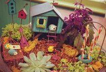 fairy gardens / whimsical fairy garden ideas, fairy doors and gypsy garden goodies