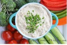delicious dips & appetizers