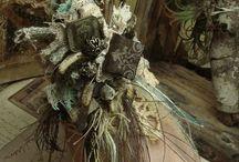 Mixed Media Cuff Bracelets / by Dark Faerie Creations