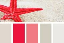 color palettes / For our first flat and following