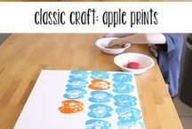 simple arts and crafts / simple arts and crafts you can find around the home!