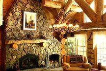 H O U S E + O F + T R E E S / Log Cabin, a.k.a. Dream Home  / by Megan Fowler