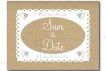 Zazzle ~ Save the Date / ♥ Zazzle frequently change discount codes, so always check before paying ♥ #zazzle Save the Date #wedding