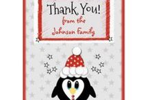 Zazzle ~ Christmas Thank You Cards / Cards to say thank you for your Christmas gifts