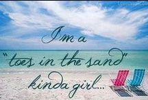 beach please / All things sun, water and sand with a side of mermaids and margaritas of course.