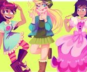 Star vs the Forces of Evil / Marco is a girl!!!!!