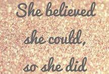 Inspirational quotations / Inspiring quotes