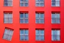 I see red / If black was a colour, that would be my favourite one. But it isn't, so it's red. / by Marina