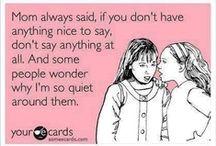 Things I would say,,