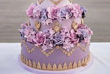 Stylish Wedding Cakes / Now days the wedding cake reflects the style and theme of the wedding. Consider it an edible accessory to complete the look of your day. Here are some fun and stylish cakes we love! Enjoy
