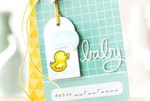 ♥ for Paper - Cards - Baby / by Hanna Bain