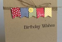 ♥ for Paper - Cards - Birthday / by Hanna Bain