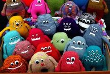 Plush monsters and other strange creatures / by Marina