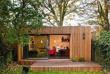 Garden offices / Cool garden office inspiration